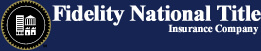 Fidelity National Title Insurance Company Logo