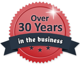 Over 30 Years in Business